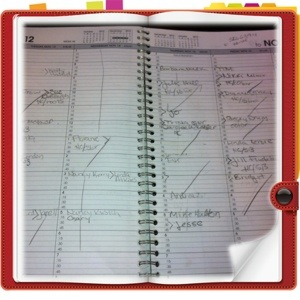 Planning, Scheduling, Never Ending Appointments...