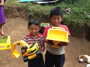 John carlos and Mikel have been waiting so long to get these new tractors!